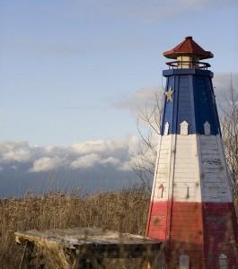 Un phare d'Acadie