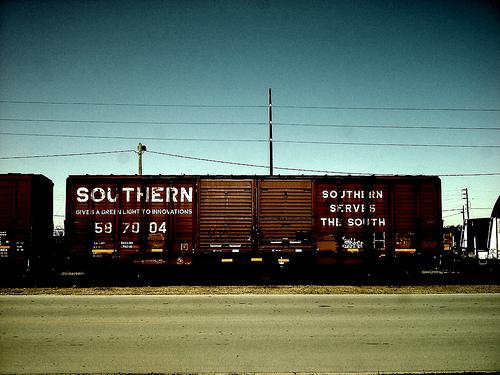 Image: MichaelChaos -- le chemin de fer Southern Railway